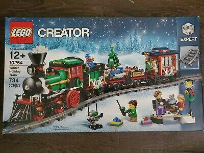 Brand New & Sealed Lego 10254 Winter Holiday Train Set Christmas X'mas
