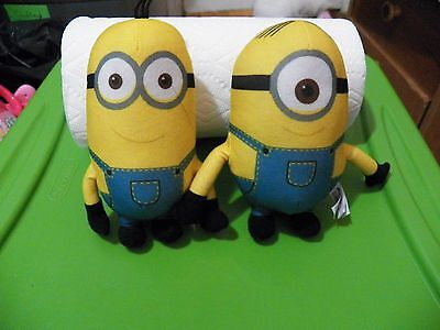 2 Stuffed minions...Kevin and - Dave And Kevin Minion