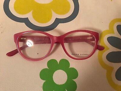 $300 RALPH LAUREN WOMENS PINK EYEGLASSES FRAMED GLASSES OPTICAL LENSES BIFOCAL