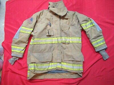 Mfg 2006 46 X 32 Cairns Firefighter Turnout Bunker Jacket Fire Rescue Gear Ems