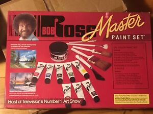 Bob Ross complete painting set
