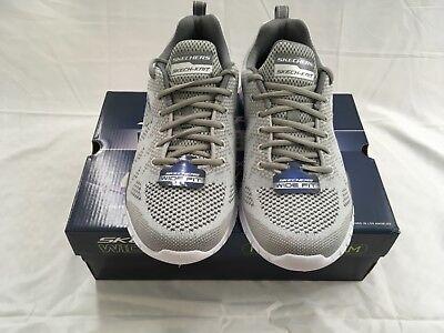 5c51f1fcffbb Skechers Men s Shoes Gain on-DEBBIR Gray Charcoal 52819 Size 10.5W