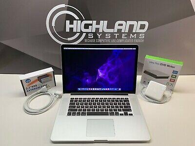 MACBOOK PRO 15 | RETINA | 3.2GHz i7 | 16GB RAM | 500GB SSD | WARRANTY | OS-2019