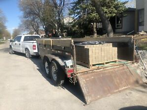 Pickup truck and trailer