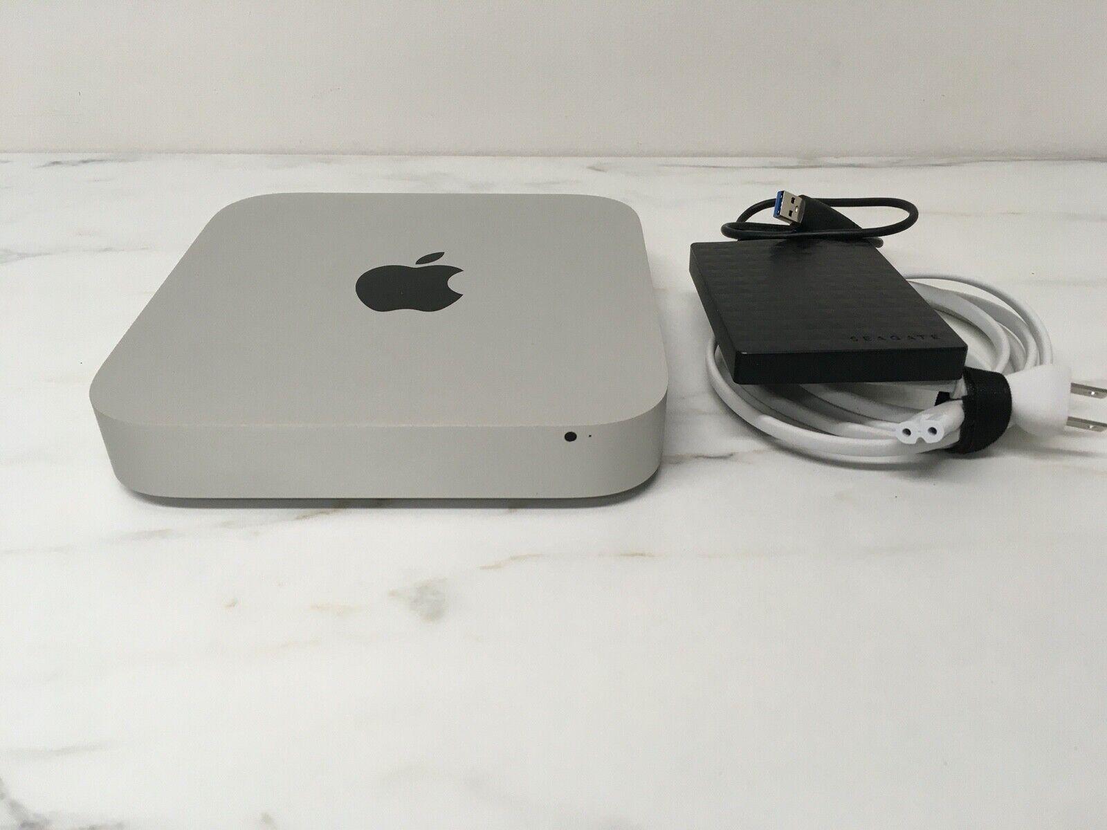 Apple Mac Mini A1347 October, 2012 I5 8GB RAM Dual SSD Drives MD387LL/A F/ship - $239.00