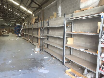 Pallet racking used for 1300m2 warehouse for sale or hire Erskineville Inner Sydney Preview