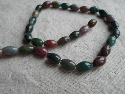 Strand of 17mm Jade Oval Beads
