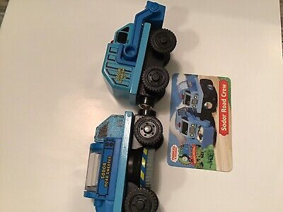 Thomas And Friends Wooden Sodor Road Crew Street Sweeper & Rubbish Truck 2003