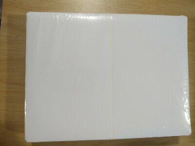 500 Self Adhesive Paypal Ebay 8.5 X 5.5 Shipping Labels 2 Per Sheet Round Corner