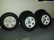 Diahatsu Feroza 4x4 Tyres and Wheels (4 plus spare) Alexandra Hills Redland Area Preview