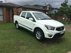 2014 Ssangyong Actyon Sports SX Manual Ute