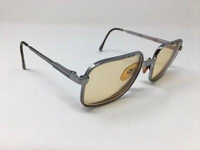 Luxottica Mens Vintage Eyeglasses 54-18-135 Director Taupelite Silver Flex 5167