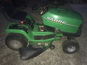John Deere sabre ride on lawn mower Wingham Greater Taree Area Preview