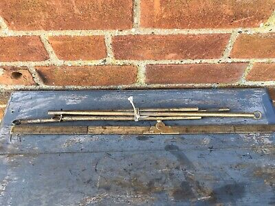 Antique French Brass Curtain Rods