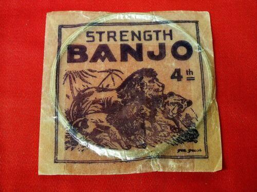 Original Vintage Banjo 4st String Strength. Made in Germany.