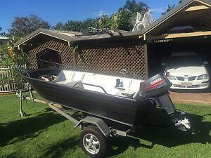 12ft Stessl boat with 20hp Yamaha outboard Sandgate Brisbane North East Preview