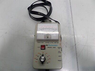 Ird Mechanalysis Model 308 Vibrationsound Level Meter W Carrying Strap