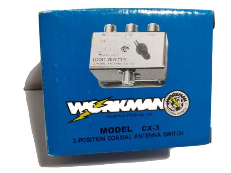 Workman CX-3 Antenna Switch Box CB Radio