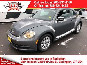 2013 Volkswagen Beetle Coupe Comfortline, Auto, Heated Seats, Di