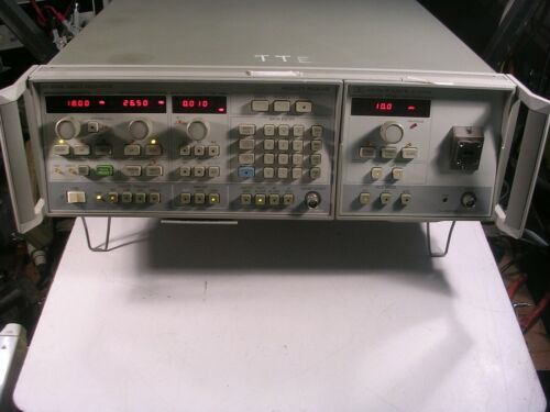 HP 8350B+83570A  18 -26.6GHz Sweep Generator NICE