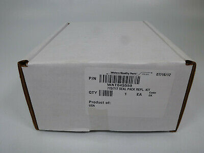 Waters 715717 Seal Pack Replacement Kit Wat045559 Sealed 072012