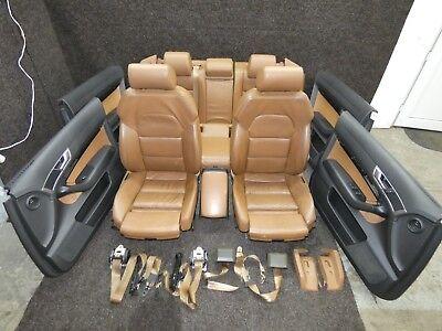 Genuine A6 4f Leather Trim Valcona Leather Brown Sportsitze Heated Seats If