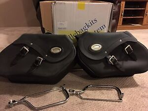Saddle bags - never used