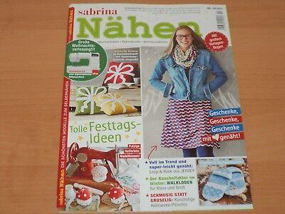 Sabrina Nähen Geschenkideen-Dekoration + großen Vorlagen-Bogen, Nr. 24/2017 ()
