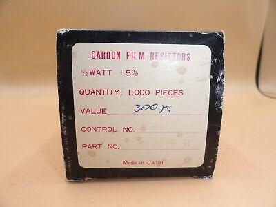 Baldwin - Pack Of 1000 - Resistors 300k Ohm 12 Watt