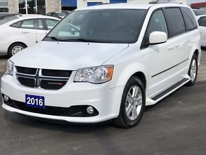 2016 Dodge Grand Caravan CREW+ /Full stow &Go/Navi /Power Door /