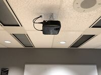 Projector,  Home theatre installation