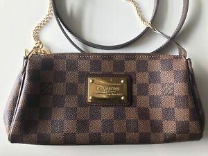 Louis Vuitton Eva Damier Purse/ Crossbody Bag