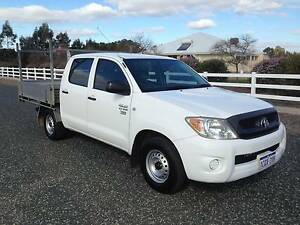 2007 Toyota Hilux Dual Cab Workmate 2.7L 5 Speed Ellenbrook Swan Area Preview