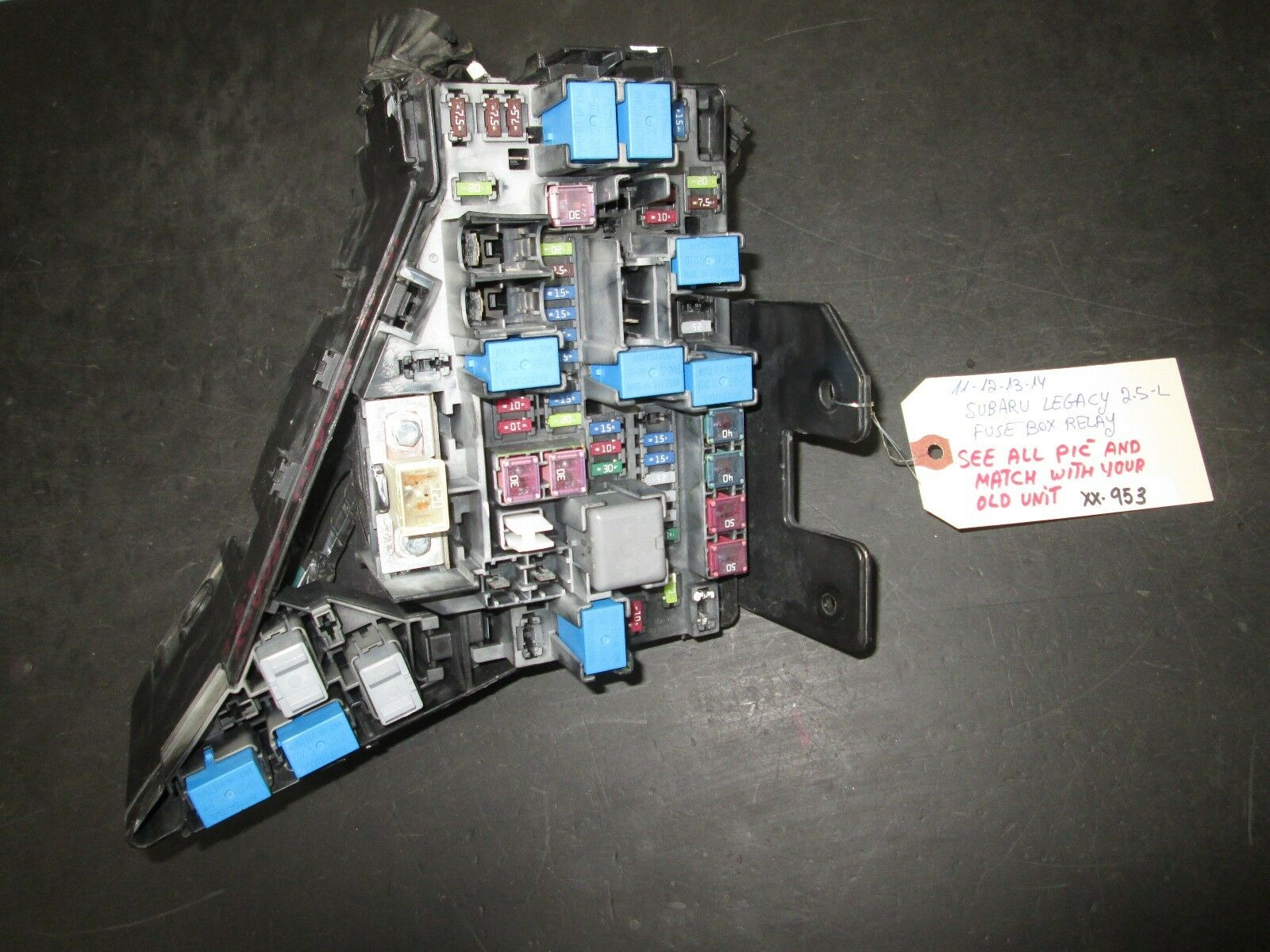 Used Subaru Safety Security And Related Parts For Sale Page 85 2011 Legacy Fuse Box 2014 25l Relay
