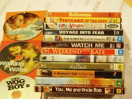 Australian DVD's, Movies, OZ films, Feature films, Aussie movies Swansea Glamorgan Area Preview