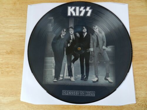 KISS DRESSED TO KILL PICTURE DISC WITH POSTER