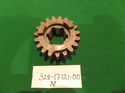 NEW <em>YAMAHA</em> TZ 250 350 SECOND PINION TRANSMISSION GEAR NOT RD 328 171