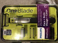 Philips one blade electric face and body razor