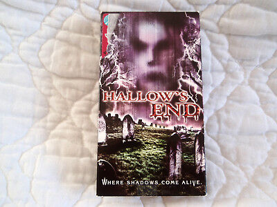 HALLOW'S END VHS HALLOWEEN HAUNTED HOUSE HORROR COLLEGE CO-EDS ZOMBIES VAMPIRES - Halloween Haunts Movie