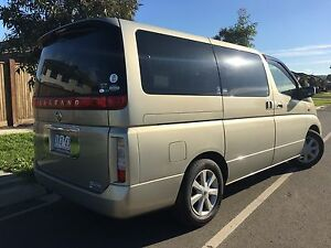 Nissan Elgrand 8 Seater 2004 with Aus Nav Reg RWc Cranbourne North Casey Area Preview