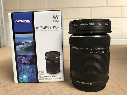 Brand new Olympus 40-150mm telephoto lens