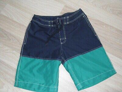 Mens Gap  2 tone ( navy & jade green) swim shorts - size S