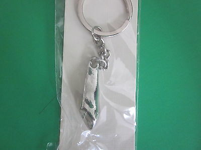 One Dental Keychain For Dentist Team Gift Tooth Canine Color Gold Or Silver
