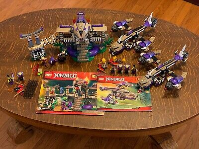 (3) Lot LEGO Ninjago (1) Enter The Serpent 70749 (2) Condrai Copter Attack 70746