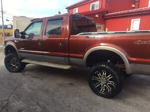 F250 king ranch powerstroke diesel