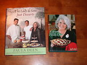 Paula Deen Cookbook Lot