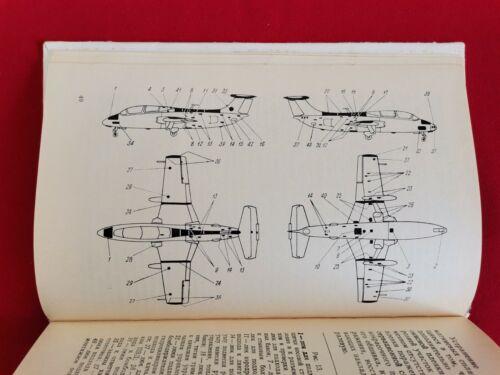 VINTAGE BOOK AIRCRAFT AERO L-29 DELFIN MAYA MANUAL MILITARY RUSSIAN SOVIET RARE