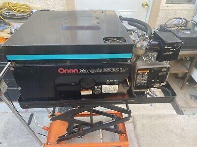 Onan Marquis 6500 Lp Generator Rv Motorhome Generator