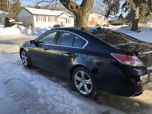 Acura TL 2012 sh-awd, 3.7, noir