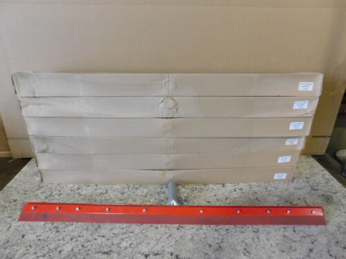 "6 NEW Carlisle 36"" Straight Steel Rubber Squeegee 4007700 NEW"